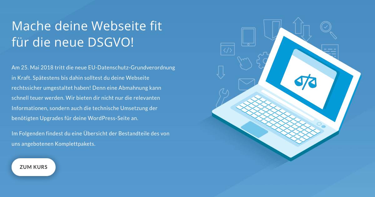 Datenschutz Webseite