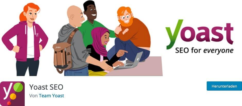 Yoast SEO Plugin zur Suchmaschinen-Optimierung in WordPress